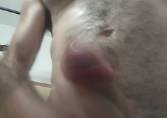 Self facial cumshot