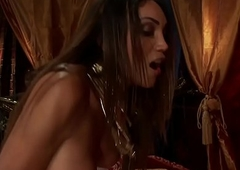 Well-endowed ladyboy dominant-bitch pummeling around to