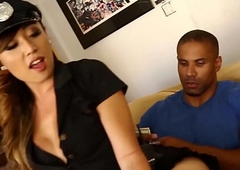 Constable Venus Lux immutable dark hole nailed in all directions Big black cock