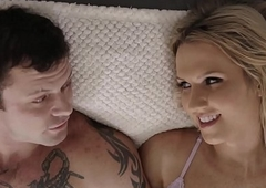 Heavy cocked betrothed chap copulates a hawt trannie - Sgt Miles together with Natalie Mars - Transsensual
