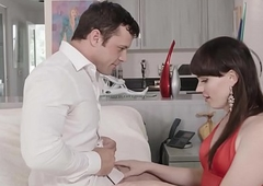 Charming Natalie Mars has obese pain in the neck gangbanged voucher Blowage