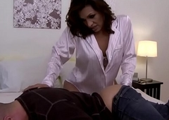 Big Daddy lalin girl transsexual irritant bonking fuks get under one's brush costs upon his irritant
